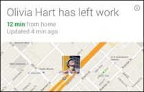 Google Now commute