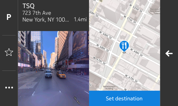 Nokia Here Auto Screenshot 2