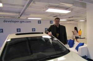 GM developer chief Nick Pudar,