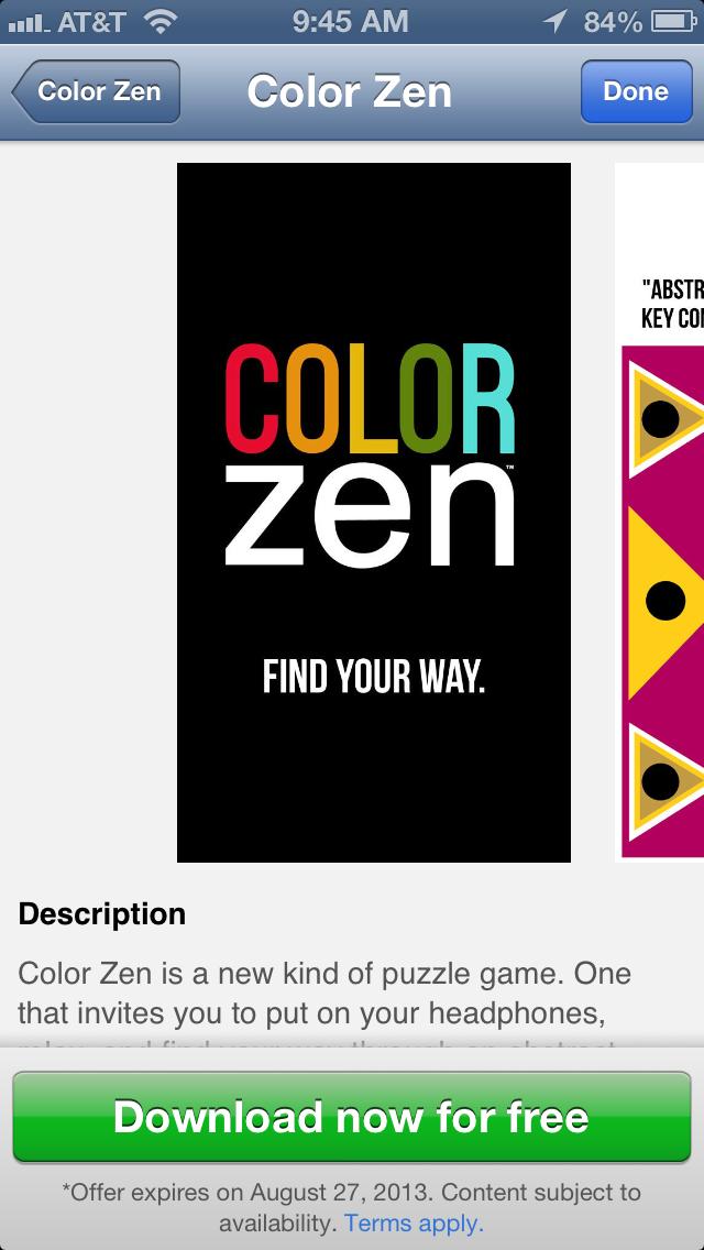 Apple Store free app