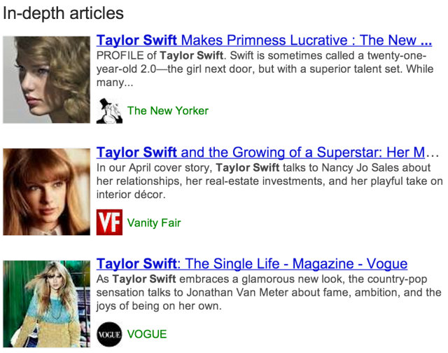 In-depth articles - [taylor swift]