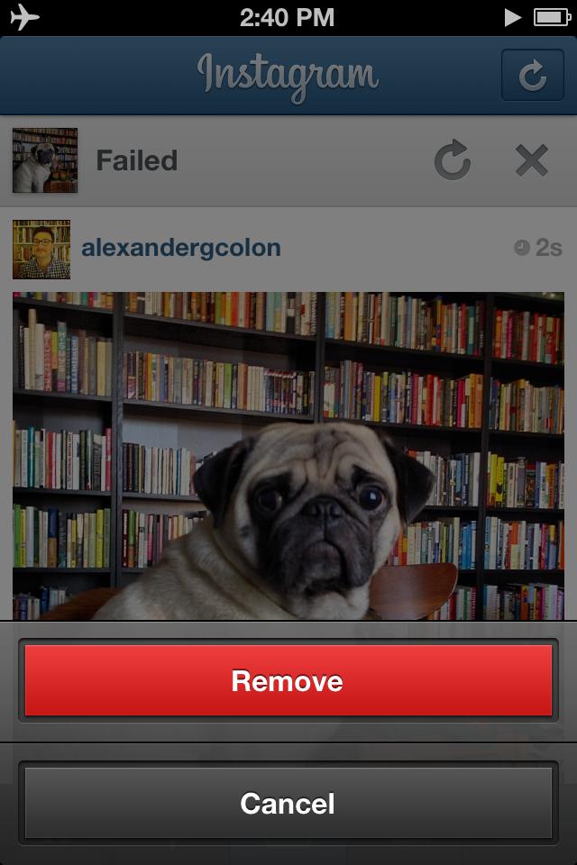 Instagram Remove