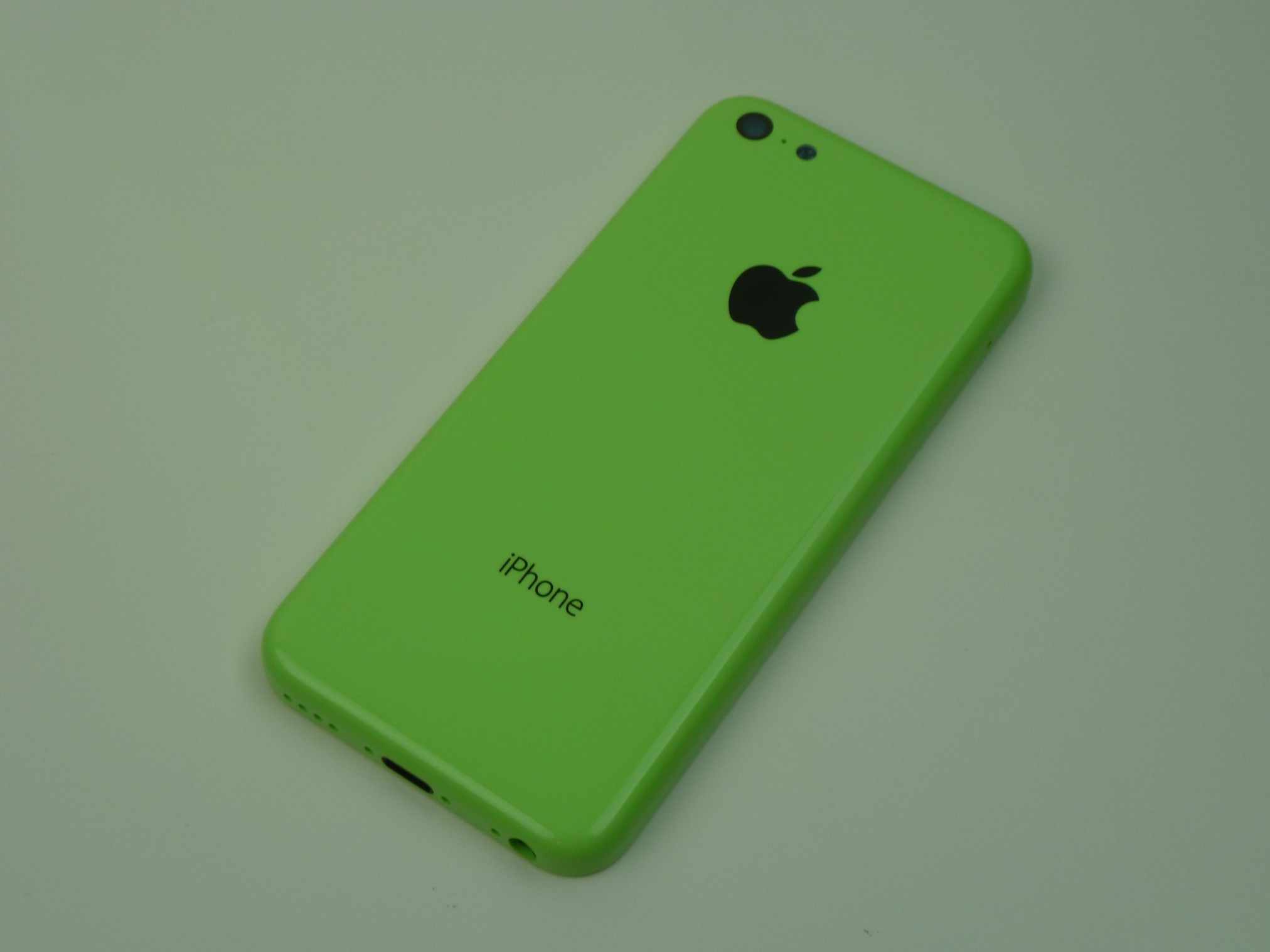 iPhone 5C angle