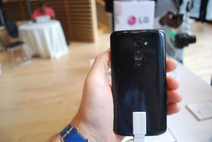 LG G2 rear