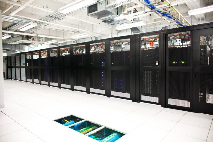 Markley Group's Boston data center facility.