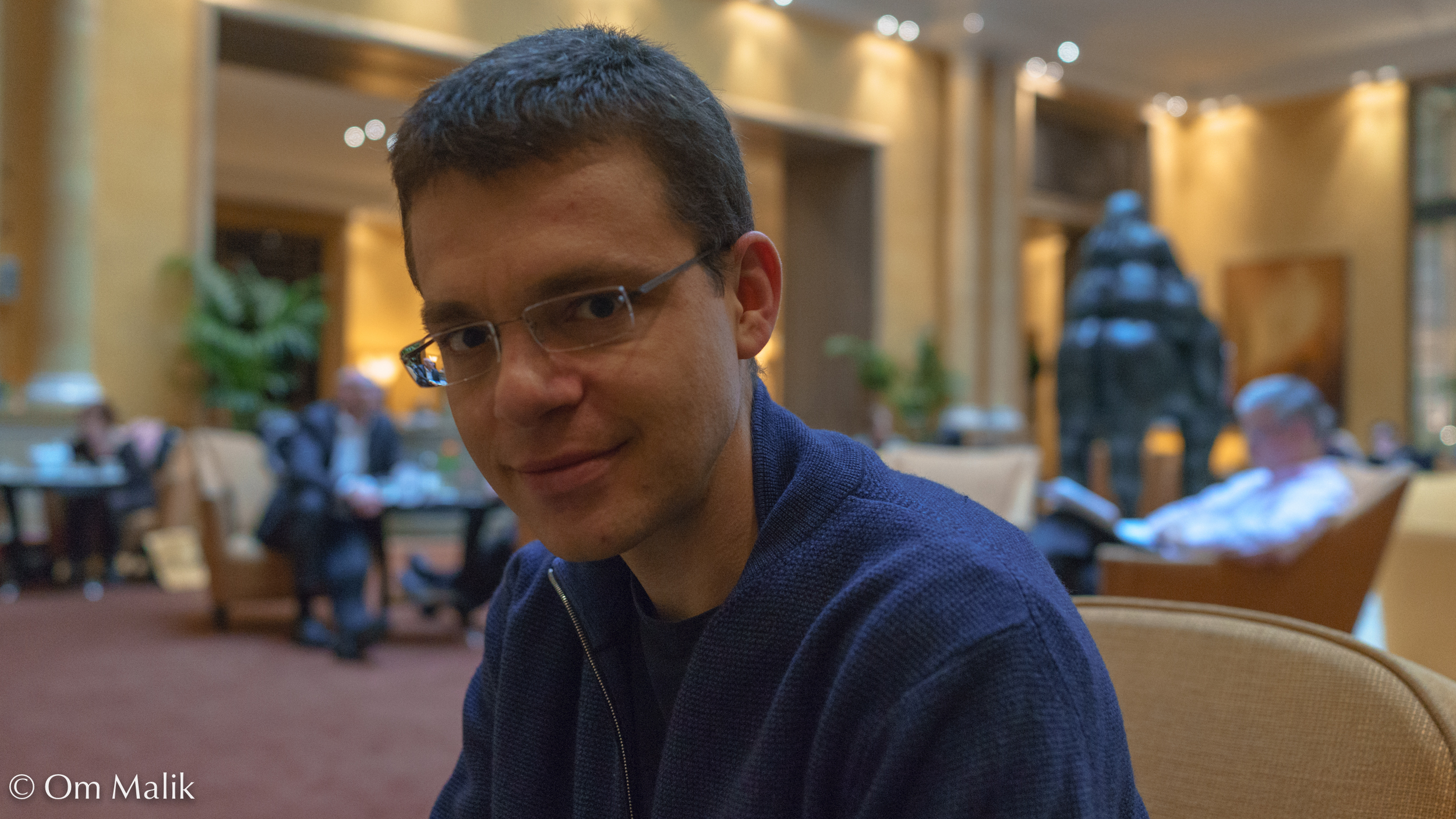 PayPal co-founder and HFV CEO Max Levchin at DLD 2013 Conference in Munich Photo by Om Malik