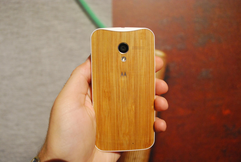 Moto X wood