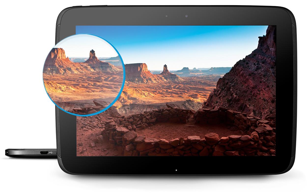 Nexus 10 screen