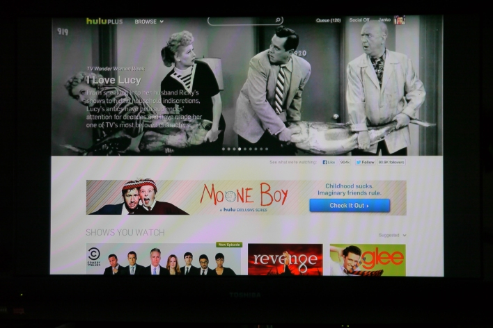 Streaming videos from Hulu via the Chrome extension works, but the result isn't great.