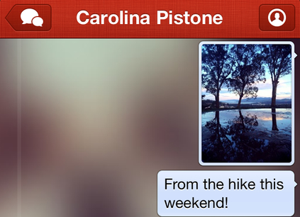 Path messaging small