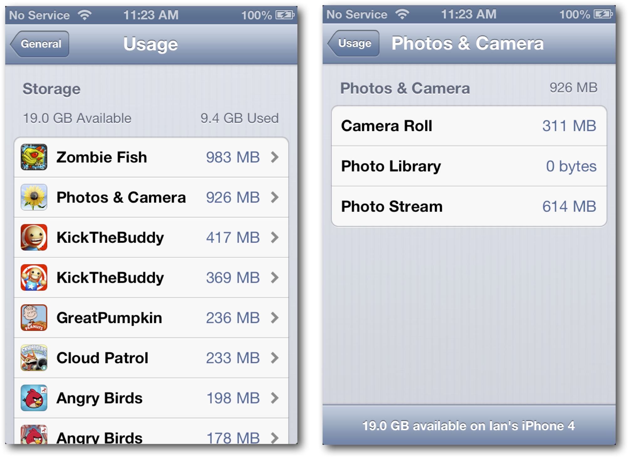 Photo and Camera Usage on iPhone