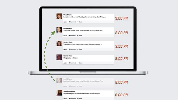 Facebook re-bumping