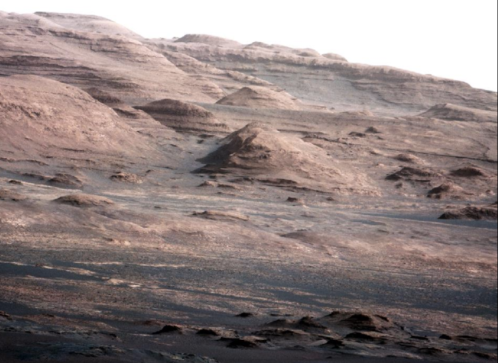 Curiosity photo of Mount Sharp