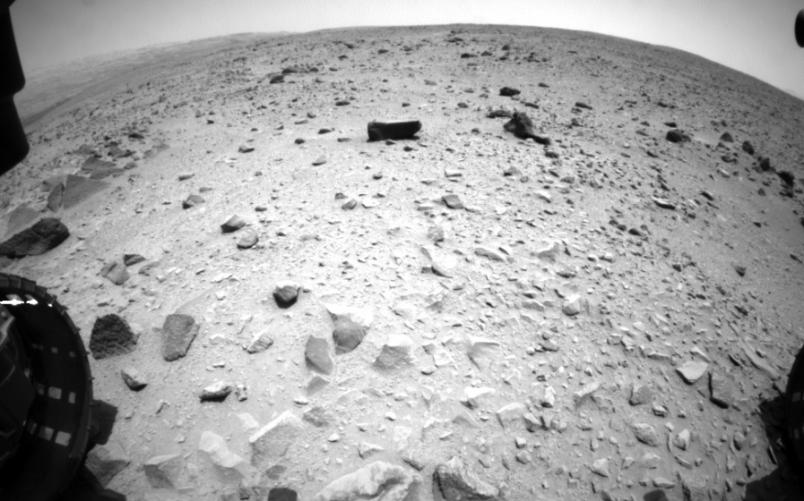 Curiosity picture of Mars