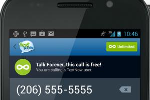 TextNow Galaxy Nexus