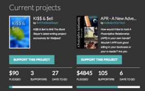Wattpad fan funding