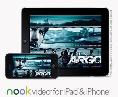 barnes & noble nook video iOS app