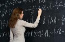 university chalkboard