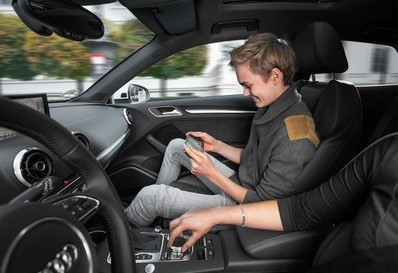 The Audi A3 with AT&T 4G connectivity, a mobile hotspot, and now Android Auto (source: Audi)