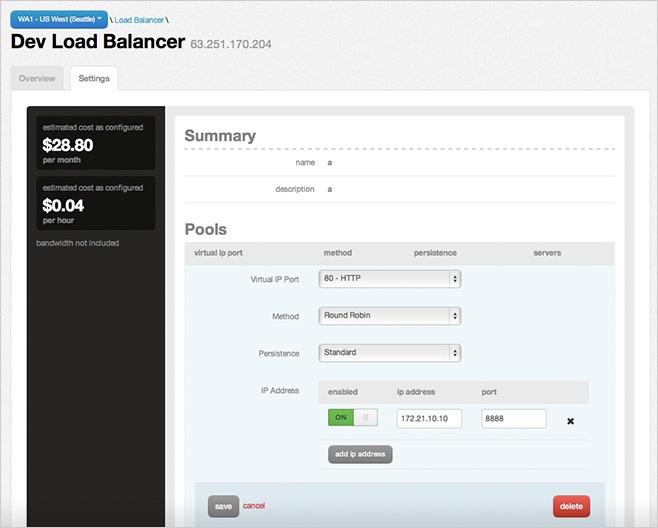 tier3 load balancer 2