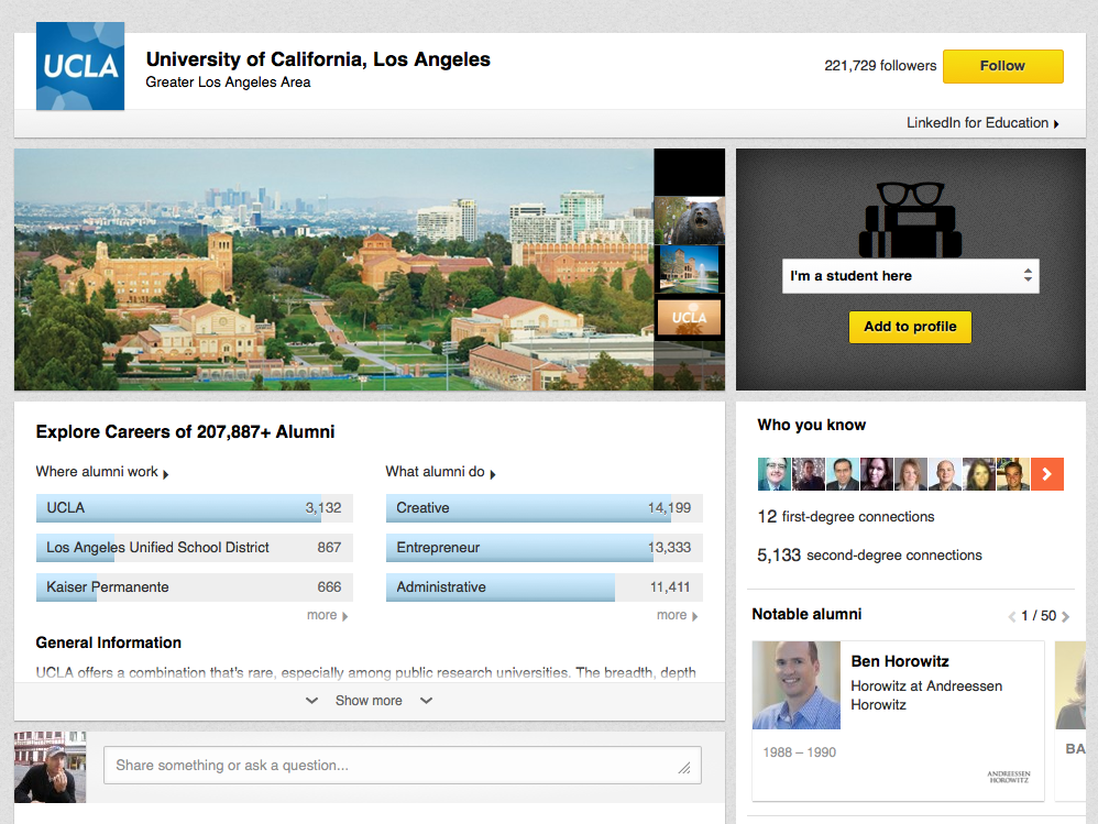 LinkedIn University Pages are a case study in building big data apps the right way