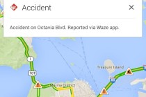 Waze incident
