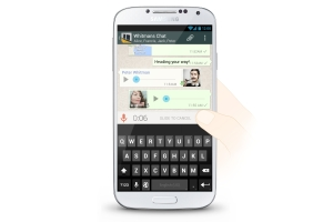 WhatsApp Android voice