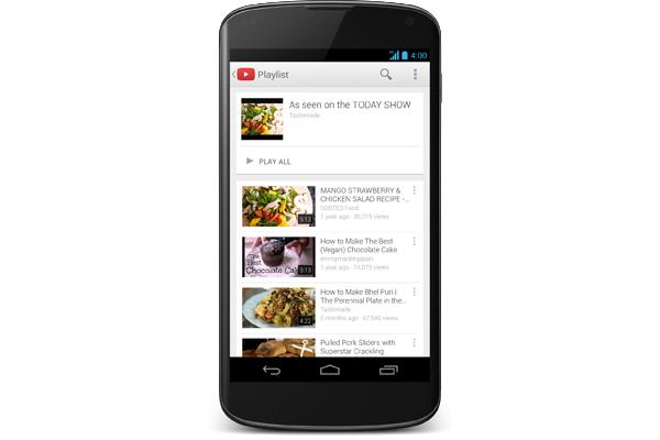 YoutubeMobileAndroid