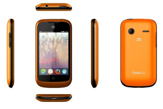 ZTE Open in orange