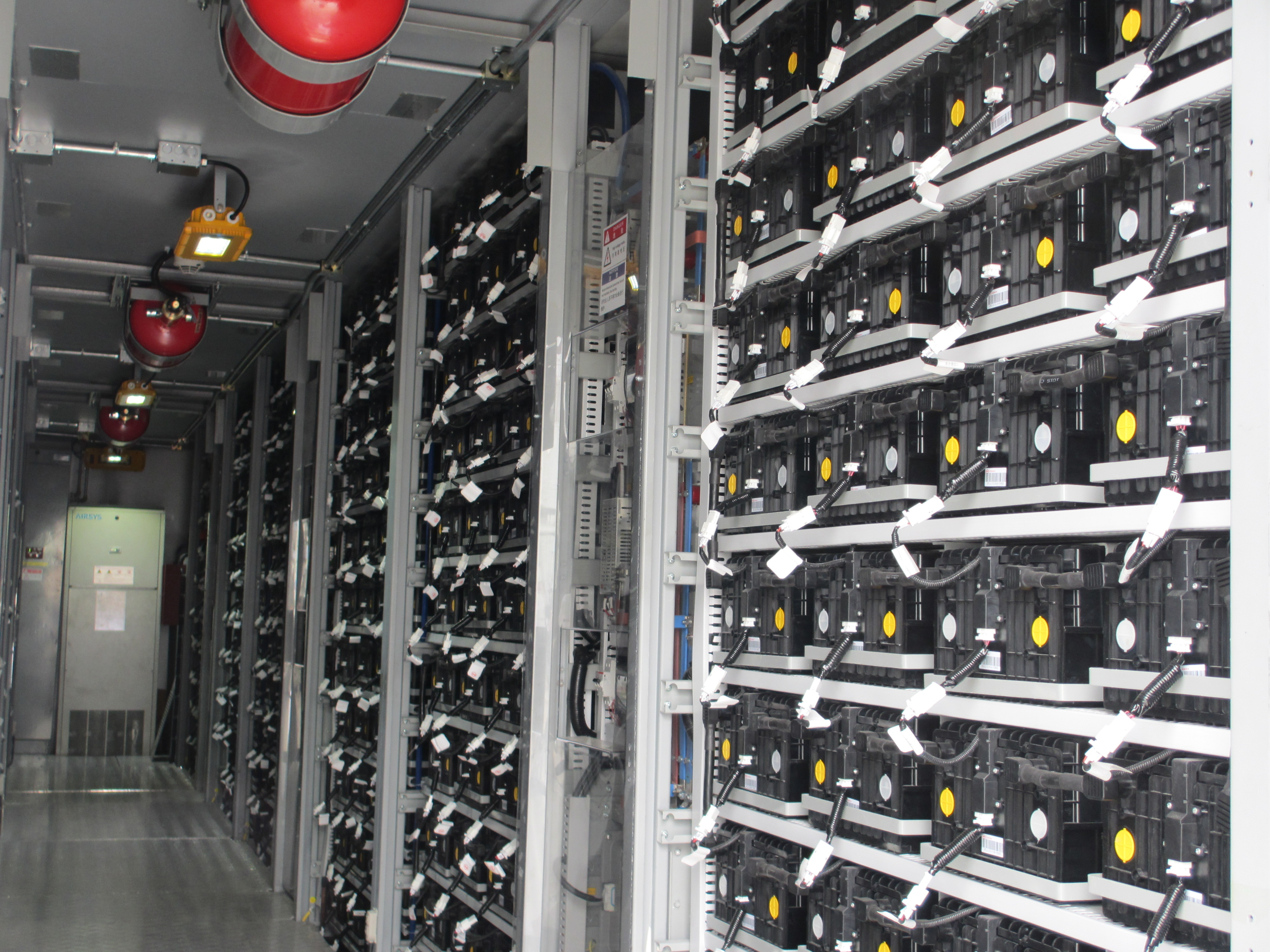 BYD batteries in Santa Rita jail