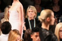 Martha Stewart Ralph Rucci - Front Row - Mercedes-Benz Fashion Week Spring 2014