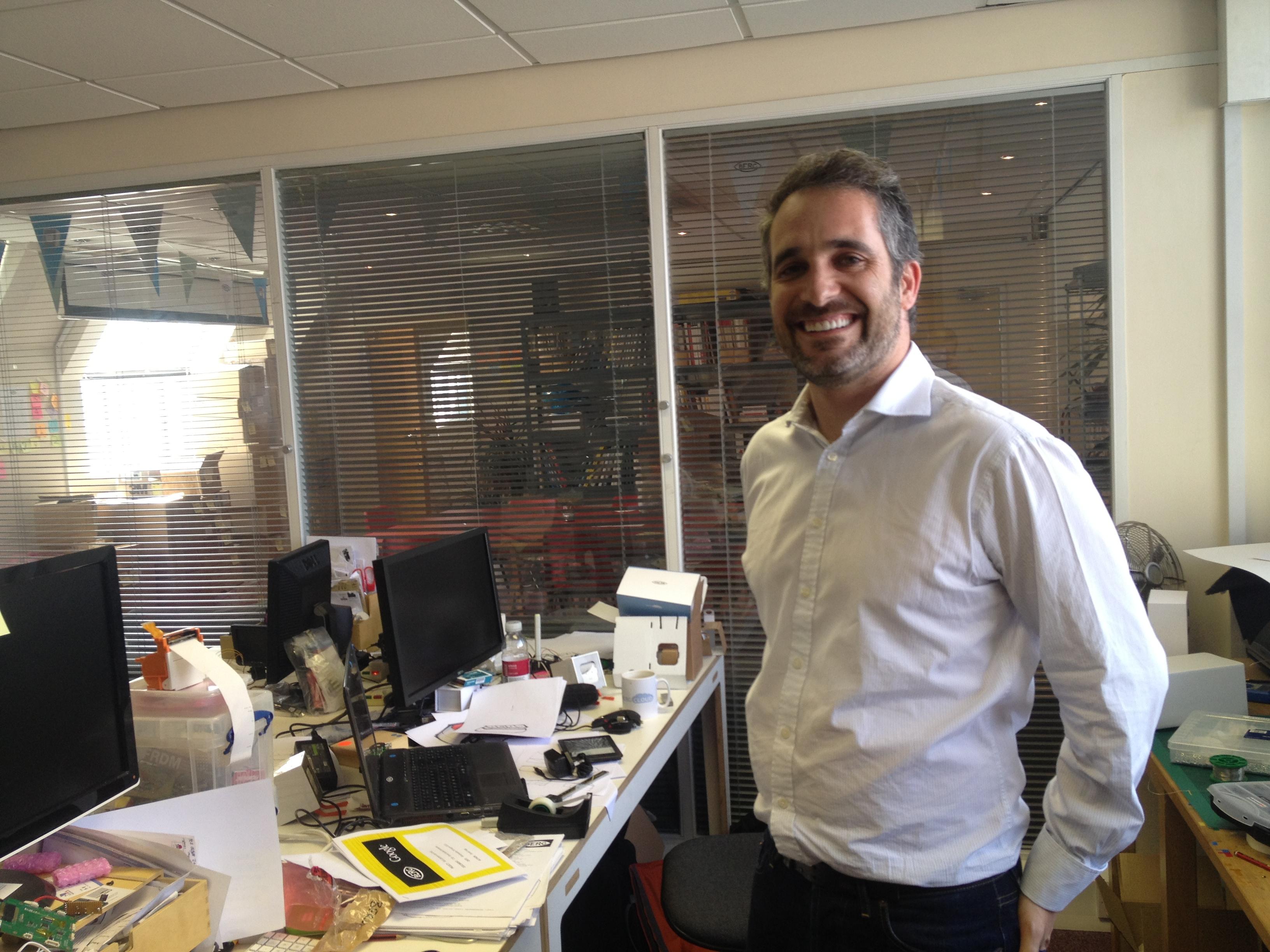 Berg CEO Matt Webb