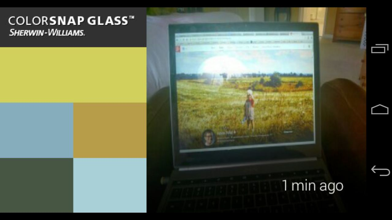 Color Snap Glass