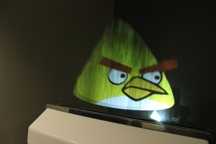 displair angry bird