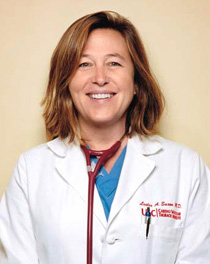 Dr. Leslie Saxon is the founder and executive director of the USC Center for Body Computing and the chief of cardiology at the USC Keck School of Medicine.