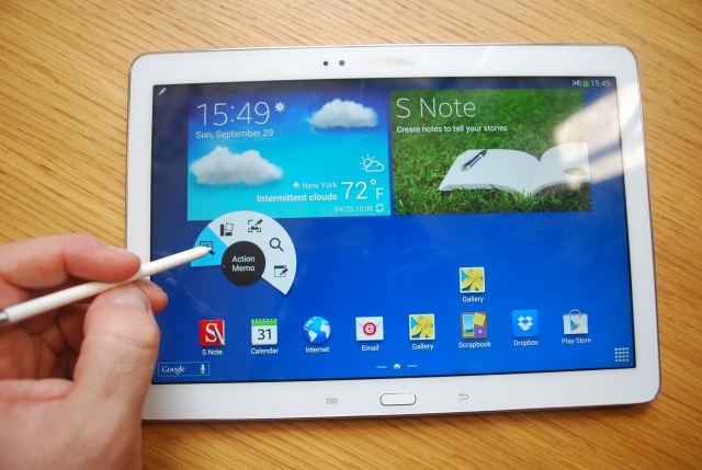 Galaxy Note 10.1 pen