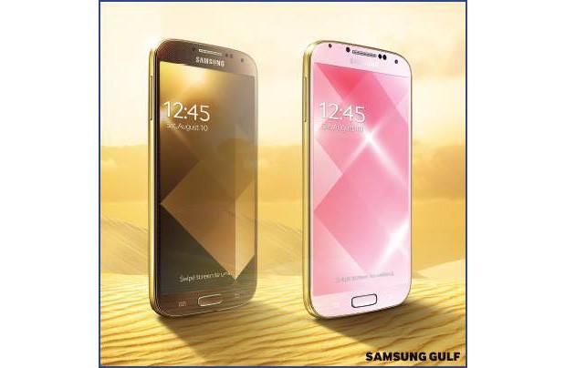 Gold Galaxy S 4