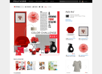 Polyvore home