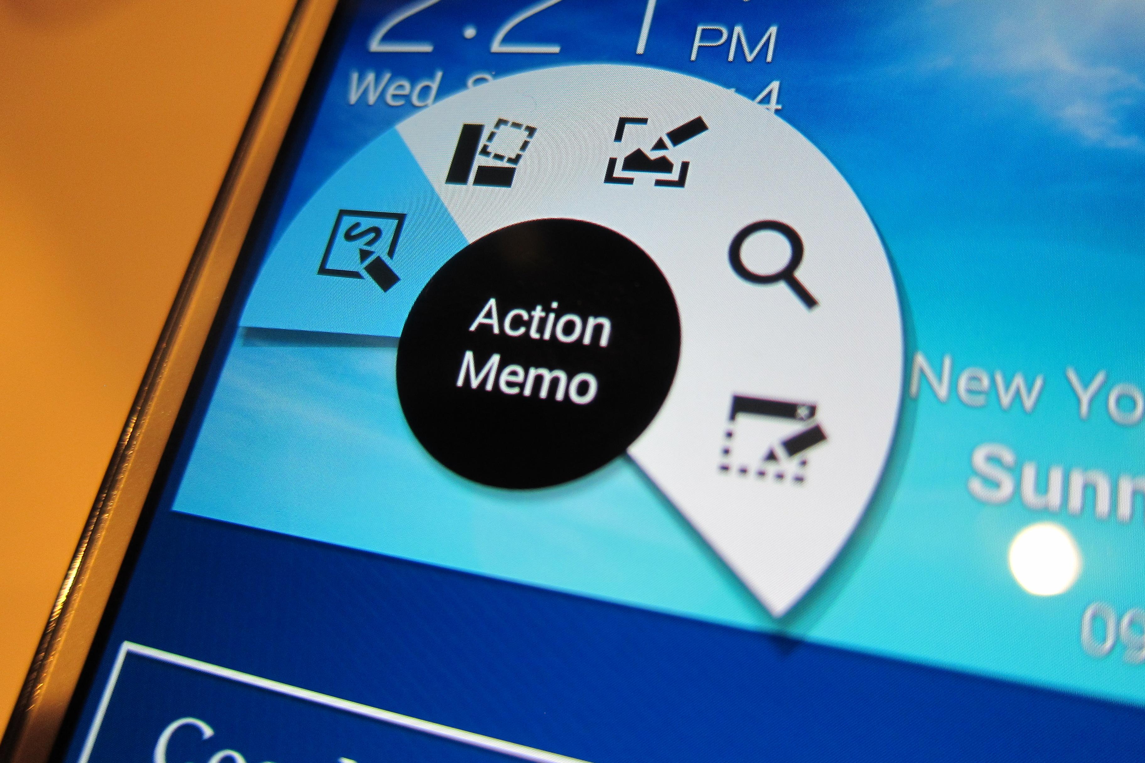 Galaxy Note 3 Action Memo