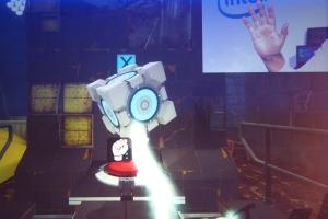 Intel Portal 2 gesture control demo
