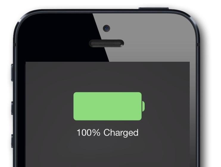 iOS 7 Battery