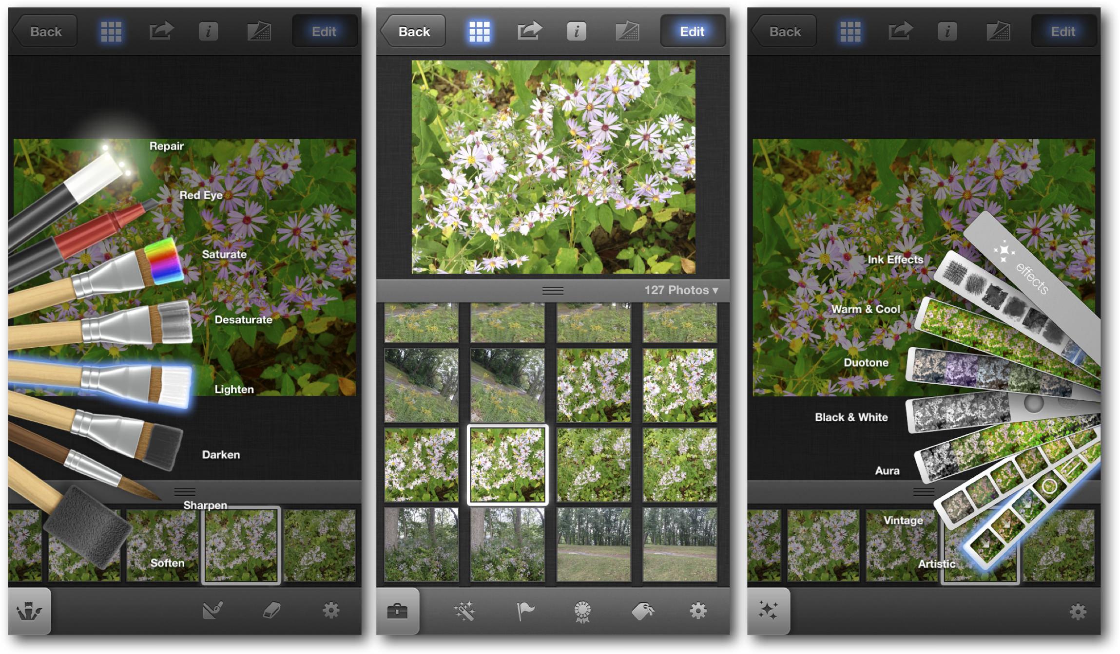 iOS 7 iPhoto Editing