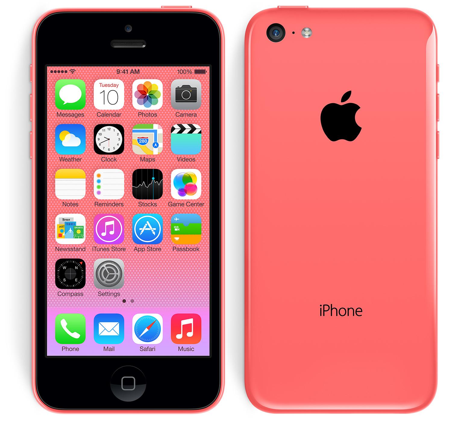 iphone 5 c red