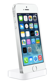image: photo of new silver iphone 5s