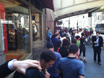 iPhone line 2: Grand Central