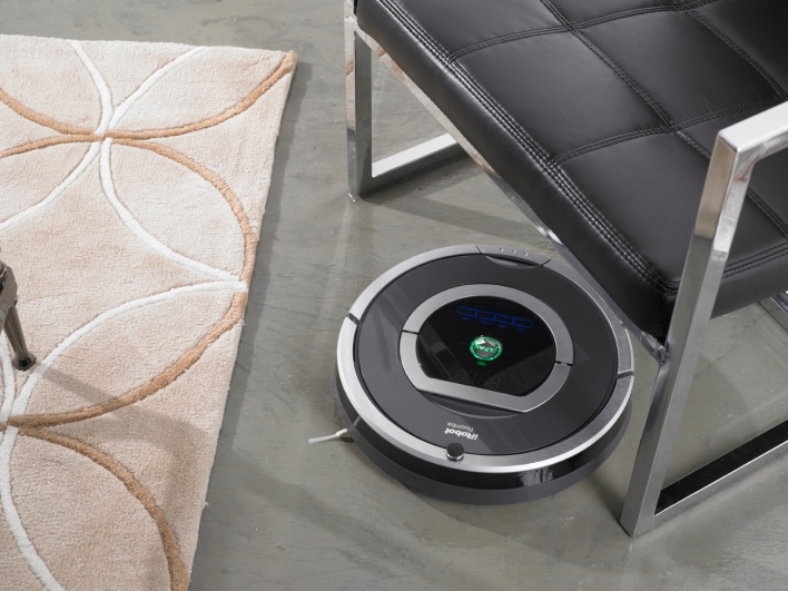 iRobot's Roomba 780 home vacuum robot. Photo courtesy of iRobot.