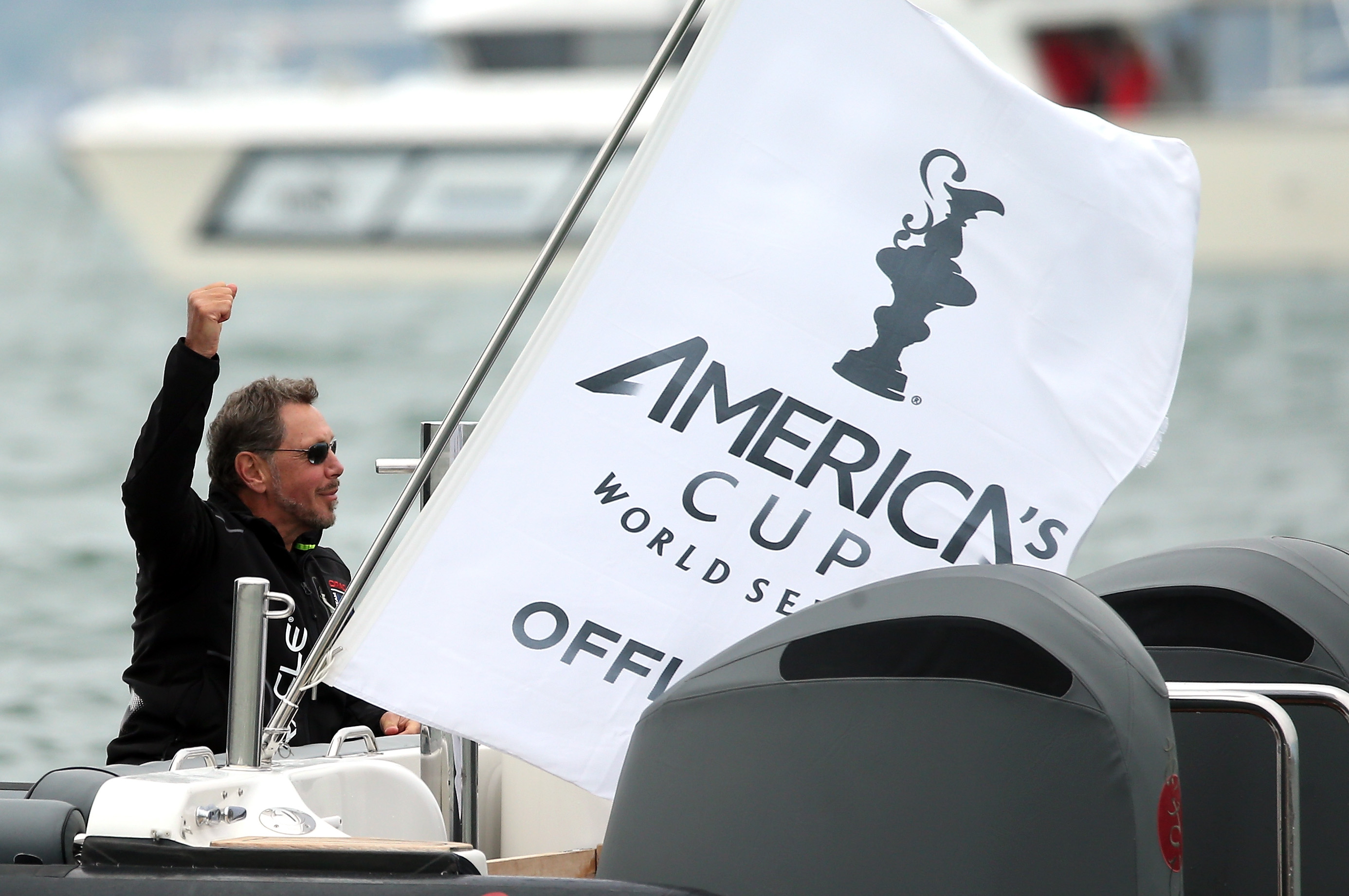 larry ellison sailing