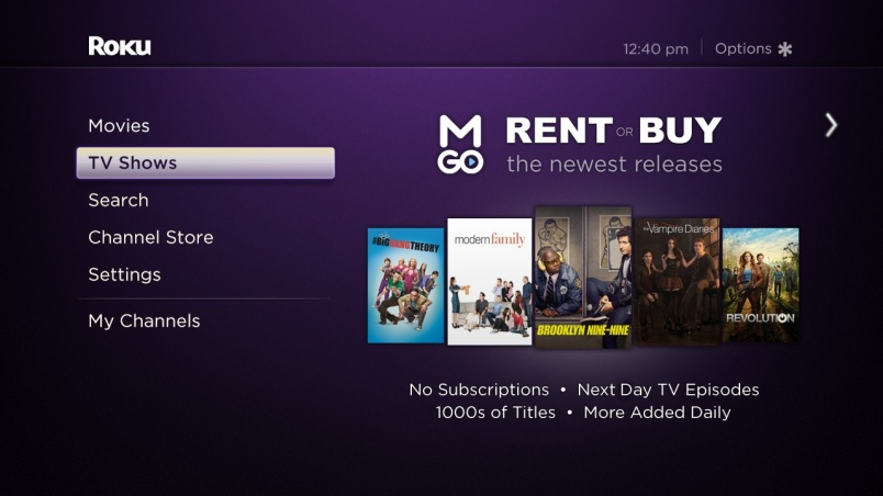 M-GO TV