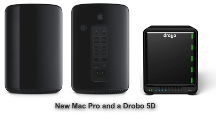 Mac Pro and Drobo 5D