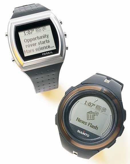 Microsoft SPOT watches